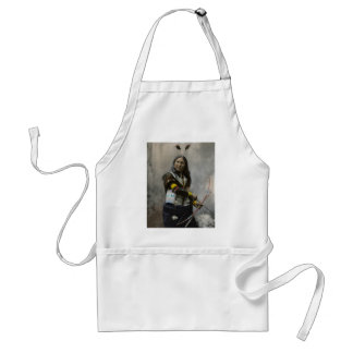 Shout At Oglala Sioux 1899 Indian Adult Apron