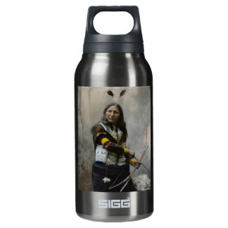 Shout At Oglala Sioux 1899 Indian Insulated Water Bottle