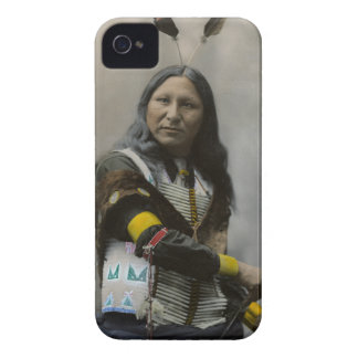 Shout At Oglala Sioux 1899 Indian iPhone 4 Case-Mate Case