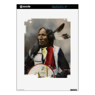 Shout At Oglala Sioux 1899 Indian Vintage iPad 2 Decals