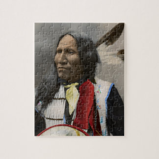 Shout At Oglala Sioux 1899 Indian Vintage Puzzles