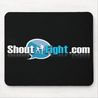 Shout Fight Mousepad