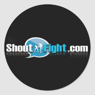 Shout Fight Stickers