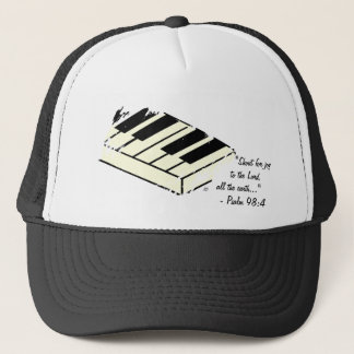"""""""Shout for Joy - Piano"""" Hat"""