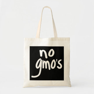 Shout No GMO's Protect our Food Black Tote Bag