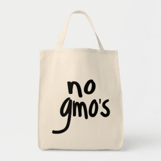 Shout No GMO's Protect our Food Tote Bag