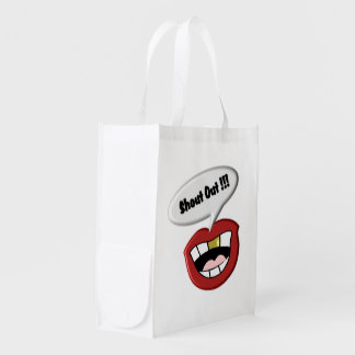 Shout Out Market Tote