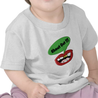 Shout Out Mouth T-shirt