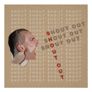 Shout Out Poster