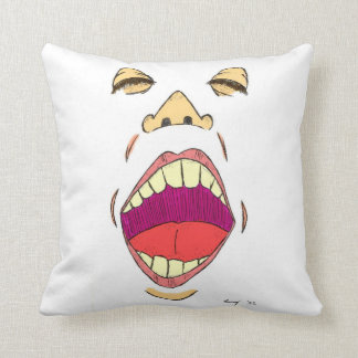 """Shout"" Pillow"