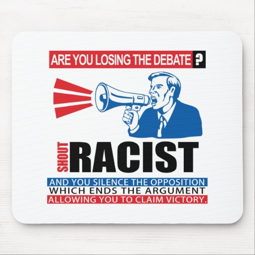 Shout Racist Mousepads
