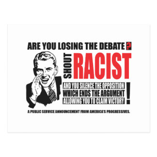 Shout Racist! Post Cards