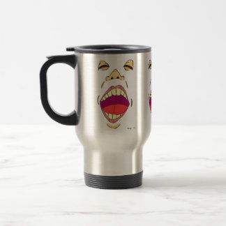 """Shout"" Travel Mug"