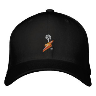 SHOUTcast Hat Black Embroidered Hats