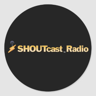 SHOUTcast Title Stickers