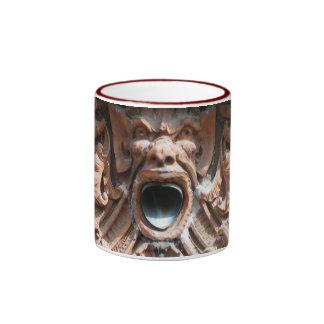 Shouting monster ringer mug