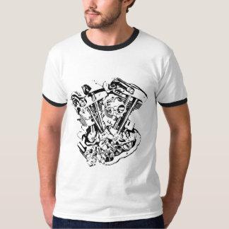 Shovel Engine Old School T T-Shirt