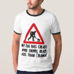 Shovel Ready Jobs - Anti Obama Shirts