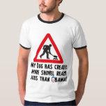 Shovel Ready Jobs - Anti Obama T-Shirt