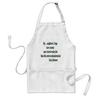 Shovel-ready Jobs Quote Aprons