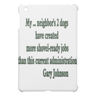 Shovel-ready Jobs Quote Case For The iPad Mini