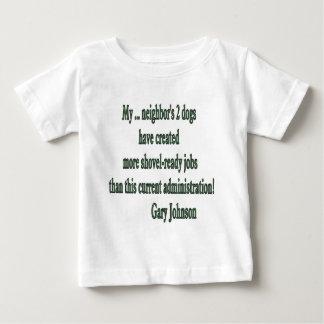 Shovel-ready Jobs Quote T Shirt