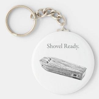 Shovel Ready Keychain