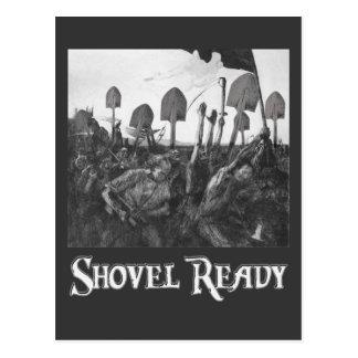 Shovel Ready Postcard