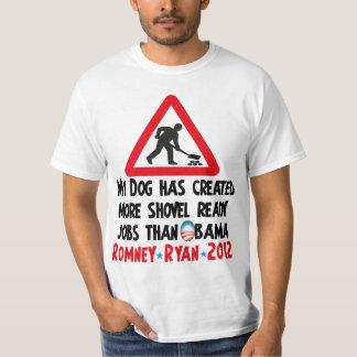 Shovel Ready - Pro Romney Ryan 2012 Shirt