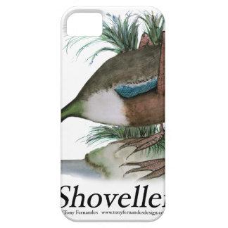 Shoveller duck, tony fernandes iPhone SE/5/5s case