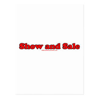 Show And Sell Postcard