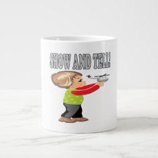 Show And Tell 2 20 Oz Large Ceramic Coffee Mug