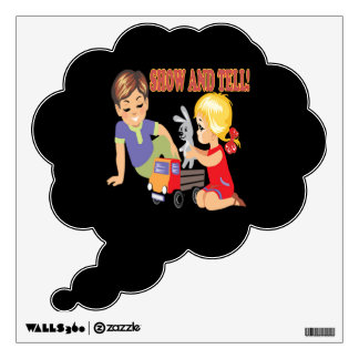 Show And Tell 3 Room Decal