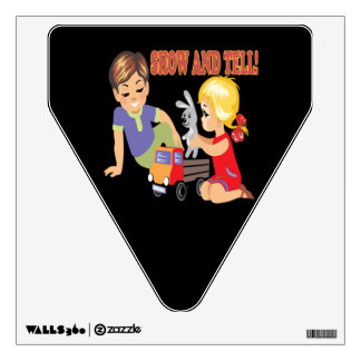 Show And Tell 3 Room Sticker