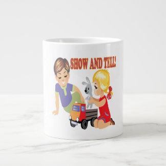 Show And Tell 3 20 Oz Large Ceramic Coffee Mug