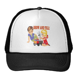 Show And Tell 3 Trucker Hat