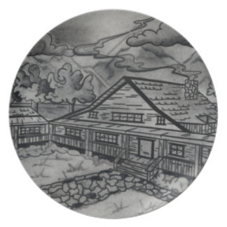 SHOW AND TELL DINNER PLATE