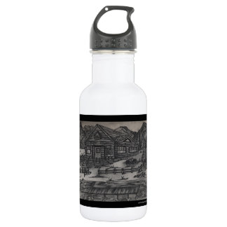 SHOW AND TELL STAINLESS STEEL WATER BOTTLE