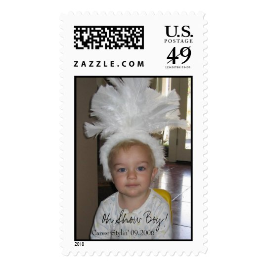 Show Boy! Postage Stamp