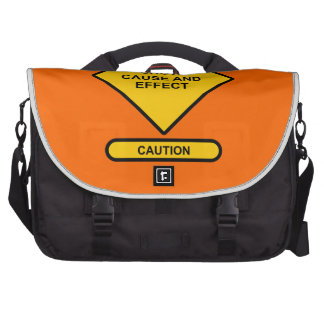 Show Cause and Effect Commuter Bag