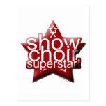 Show Choir Superstar! Postcard