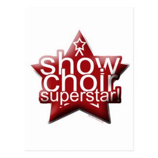 Show Choir Superstar! Post Cards