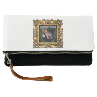 """""""Show Dog""""Clutch Purse for All Things Necessary"""