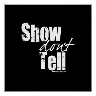 Show Don't Tell Poster