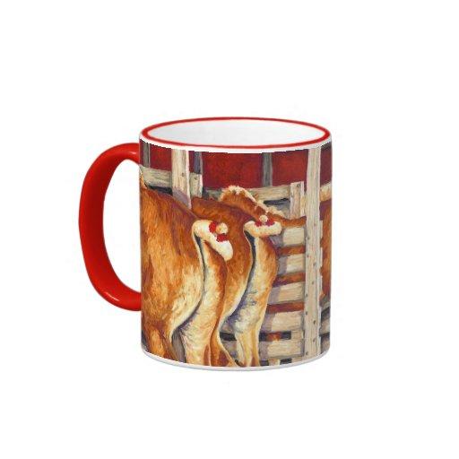 Show Girls - Belgian Horses Ringer Mug