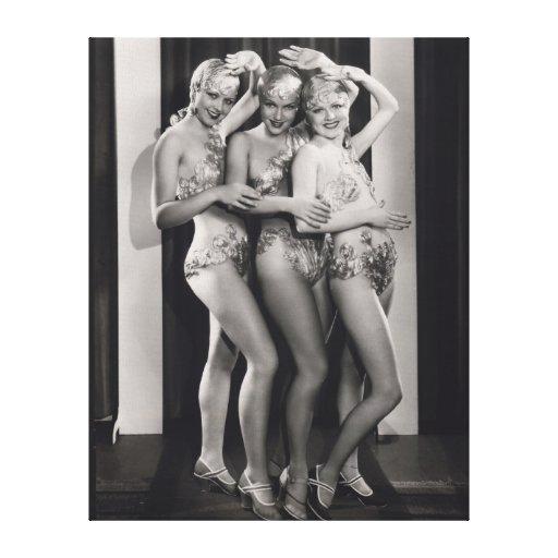 Show Girls Canvas Print - 1706680.jpg