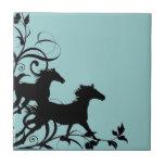 Show Horse Ceramic Tile