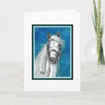 Show Horse Christmas Card
