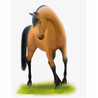 Show Horse in Pasture Statuette