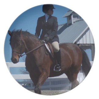 Show Horse Plate